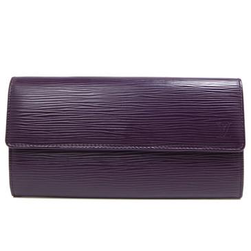 Louis Vuitton Cassis Epi Sarah Wallet