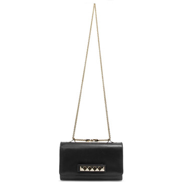 Valentino Black Va Va Voom Clutch Bag