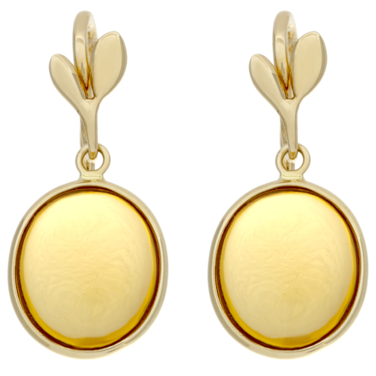 1529230d9 Tiffany & Co. 18K & Citrine Paloma Picasso Olive Leaf Drop Earrings ...