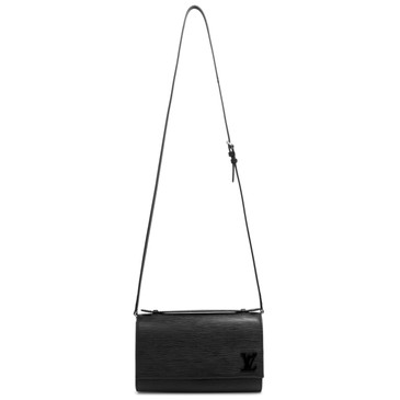 Louis Vuitton Noir Epi Leather Clery