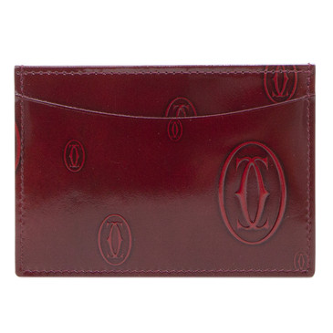 Cartier Red Happy Birthday Card Holder