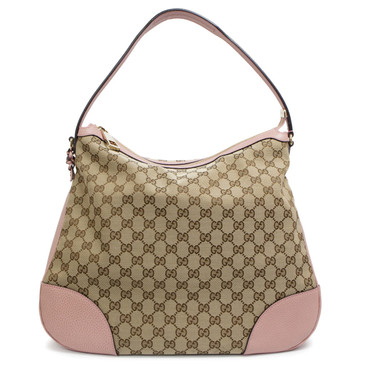 Gucci Monogram Large Bree Hobo