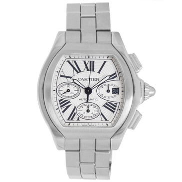 Cartier Stainless Steel Roadster Automatic Chronograph Watch W6206019