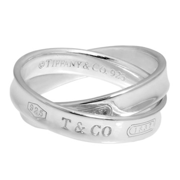Tiffany & Co. Sterling Silver 1837 Interlocking Circles Ring