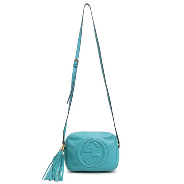 Gucci Turquoise Soho Disco Bag