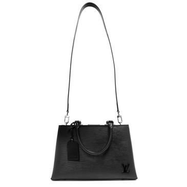 Louis Vuitton Noir Epi Kleber PM