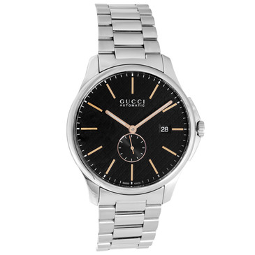Gucci G Timeless Stainless Steel Automatic Watch YA126312