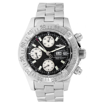 Breitling Stainless Steel SuperOcean Automatic Watch A13340