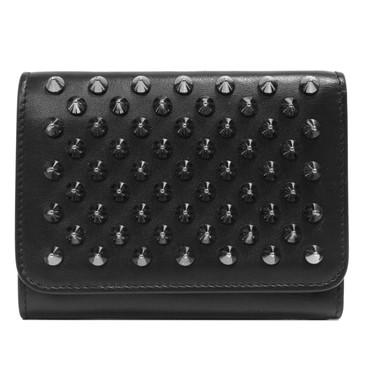 Christian Louboutin Black Macaron Mini Wallet