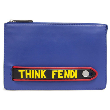 "Fendi ""Think Fendi"" Vocabulary Pouch"