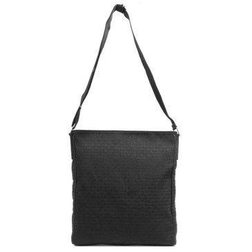 Christian Dior Black Canvas Messenger Bag