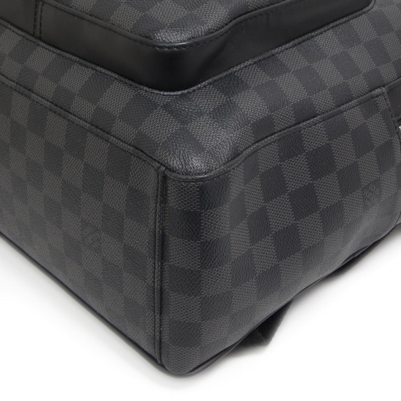 daae8d6f9322 Louis Vuitton Damier Graphite Josh Backpack - modaselle