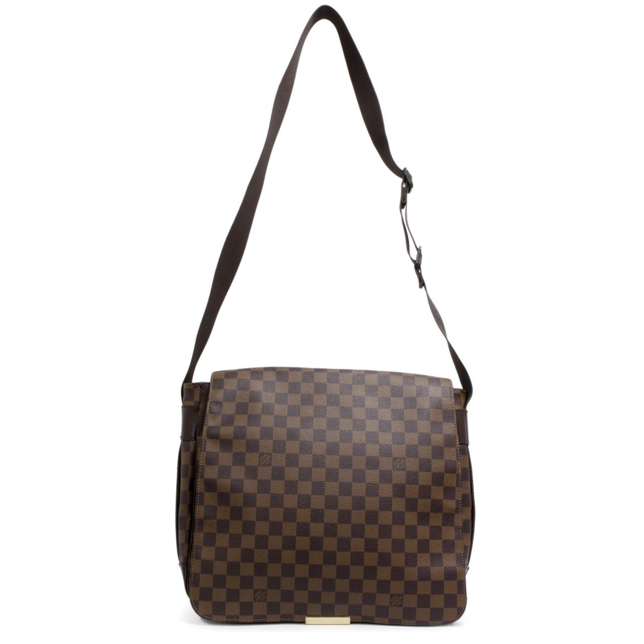89bb99fb42ef Louis Vuitton Damier Ebene Bastille Messenger Bag - modaselle