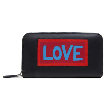 Fendi Vocabulary 'Love' Continental Wallet