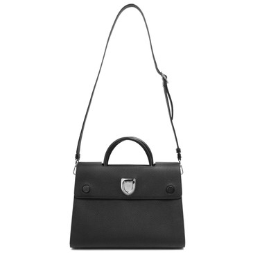 Dior Black Bullcalf Medium Diorever
