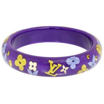 Louis Vuitton Purple Inclusion Bracelet