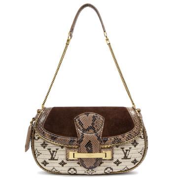 0a6719d93800 Louis Vuitton Python Monogram Empire Levant Bag