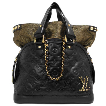 Louis Vuitton Black Monogram Double Jeu Neo Alma