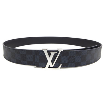 Louis Vuitton Damier Cobalt Initiales 40mm Belt