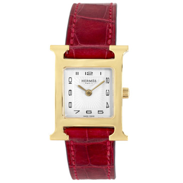 Hermes Heure H Ladies 21mm Quartz Watch HH1.201e