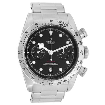 Tudor Heritage Black Bay Chronograph Automatic Watch 79350