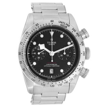 Tudor Heritage Black Bay Chronograph Automatic Watch 79350