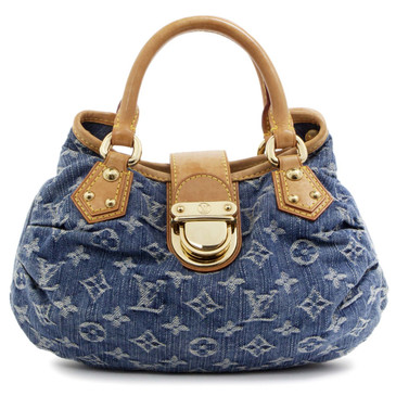 Louis Vuitton Monogram Blue Denim Pleaty Bag