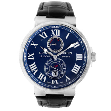Ulysse Nardin Maxi Marine Chronometer 43mm Automatic Watch 263-67