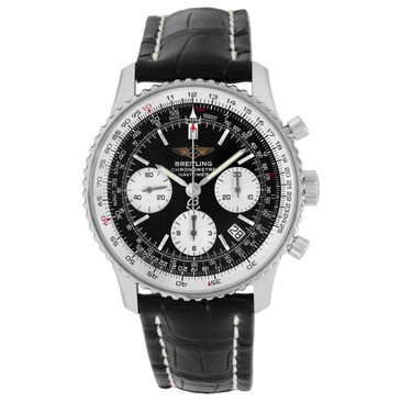 Breitling Stainless Steel Navitimer 42mm Automatic Watch A23322