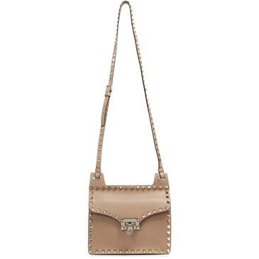 Valentino Skin Sorbet Rockstud Crossbody Bag