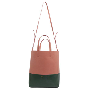 Celine Calfskin Small Vertical Cabas Tote