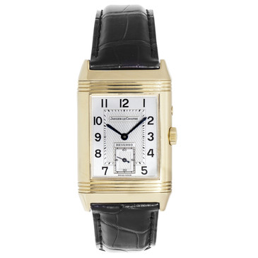 Jaeger-LeCoultre 18K Yellow Gold Reverso Duoface Day & Night 270.1.54