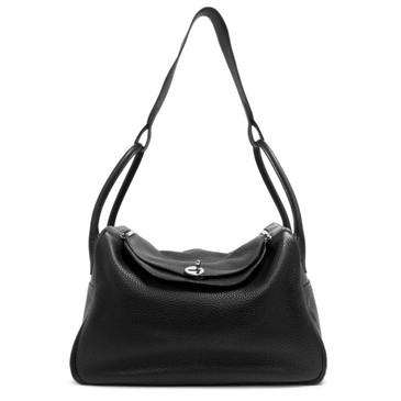 Hermes Black Clemence Lindy 34
