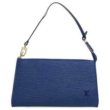 Louis Vuitton Blue Epi Pochette Accessoires 21