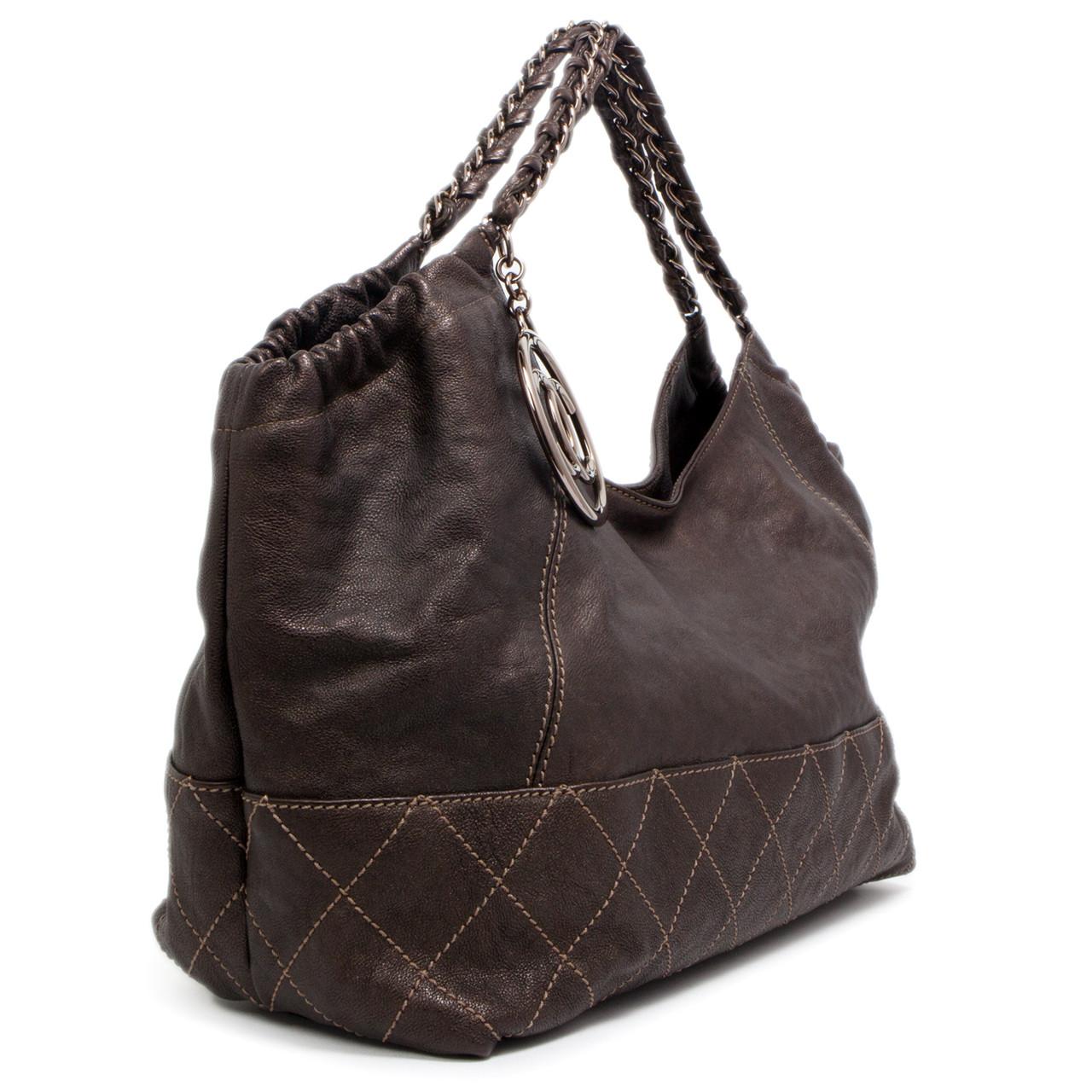 c07c7847bc24 Chanel Baby Coco Cabas Hobo Bag - modaselle