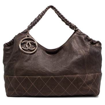 Chanel Baby Coco Cabas Hobo Bag