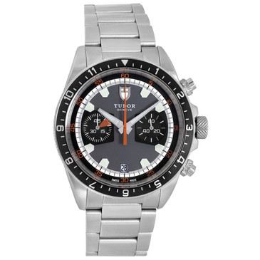 Tudor Stainless Steel Heritage Chrono Automatic Watch 70330N