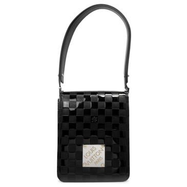 Louis Vuitton Black Damier Vernis Tall Cabaret Club Bag