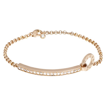 Piaget 18K Rose Gold & Diamond Possession Bracelet