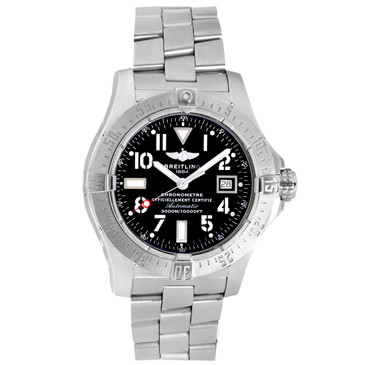 Breitling Stainless Steel Avenger Seawolf 45mm Automatic Watch A17330