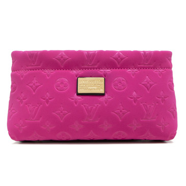 Louis Vuitton Fuchsia Monogram Scuba Clutch