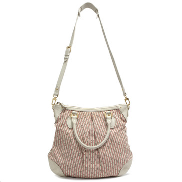 Louis Vuitton Rouge Mini Lin Croisette Marina PM