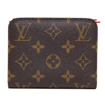 Louis Vuitton Monogram Orange Insolite Coin Purse