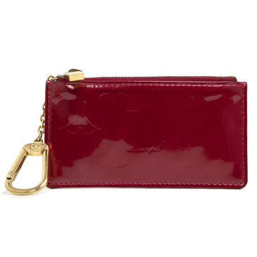 Louis Vuitton Red Vernis Key Pouch