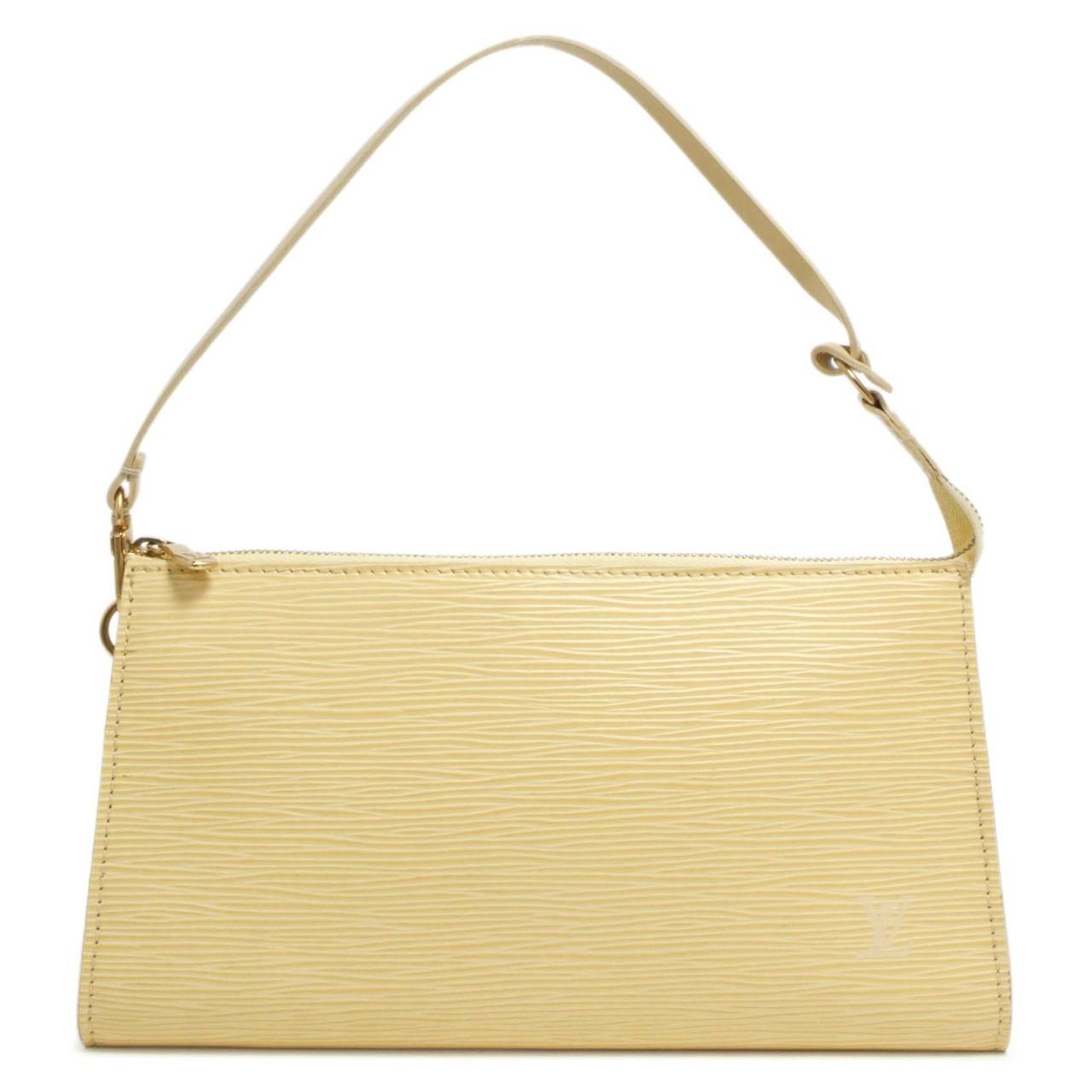 Louis Vuitton Jaune Pale Epi Pochette Accessoires 24 - modaselle 514ada7cb2126