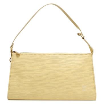 Louis Vuitton Jaune Pale Epi Pochette Accessoires 24