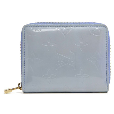 Louis Vuitton Lavender Vernis Broome Zip Wallet