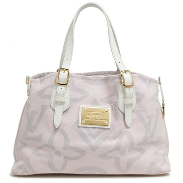Louis Vuitton Pink Tahitienne Cabas PM