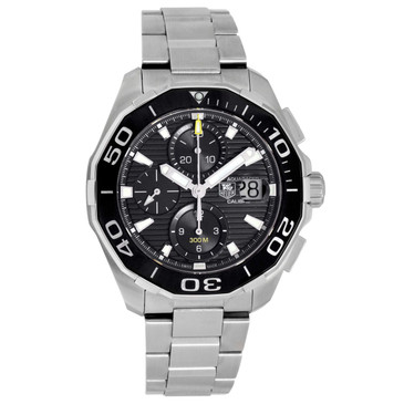 Tag Heuer Stainless Steel Aquaracer Calibre 16 Chronograph Watch CAY211A