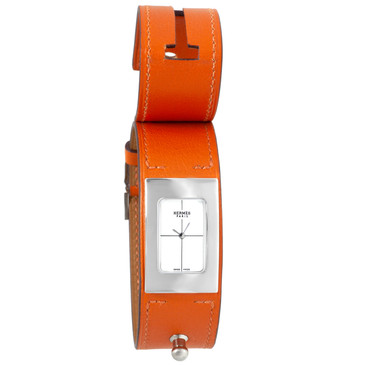 Hermes Stainless Steel Cherche Midi Quartz Watch CM1.210